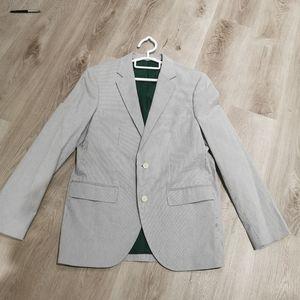 Club Monaco grant fit fine striped jacket blazer